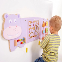 Activity Wall Panel Hippo